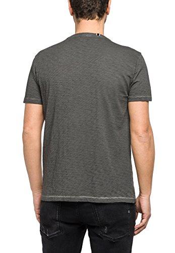 Replay Herren T-Shirt Anthra