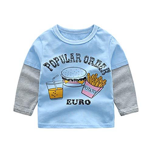 Poachers Poachers Kinder Kid Baby Girl Boy Langarm Cartoon Tops Shirts T-StüCk Freizeitkleidung