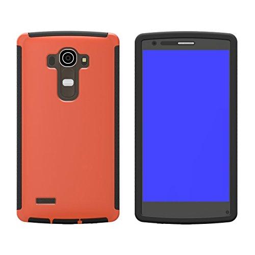 G3 D855 Coque,EVERGREENBUYING Etanche Etui de Protection [Seulement goutte étanche] D857 Housse étui Anti-Choc Anti-Neige Pare-Poussière Case Cover pour LG G3 D858 D859 Bleu Orange