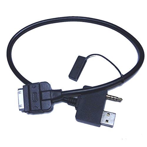 YIHAO iPod câble auxiliaire pour 2009-2011 Kia Sportage Sedona RIO5 2009-2010 Optima Zz35245