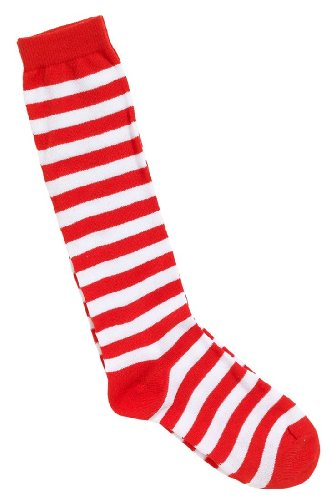 red-white-stripe-socks-clown-circus-fancy-dress-wheres-wally