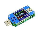 UM25C UM25 Couleur LCD Affichage Testeur de Tension de Courant USB 2.0 Type-C Double...