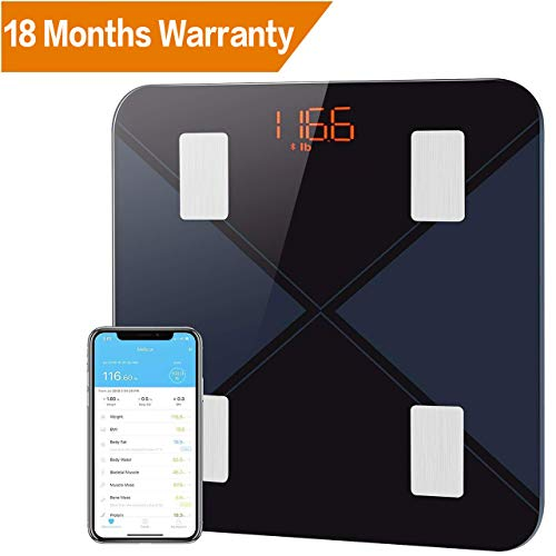 Mpow Body Fat Scales, Bluetooth ...