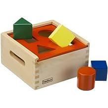 13-teilig Holzspielzeug Beeboo Baby Steckbox Scheune