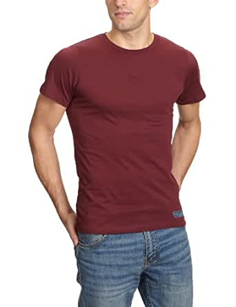 Fruit of the Loom Herren T-Shirt Regular Fit 11296PP144, Gr. 42 (XL), Rot (1B, blackberry)