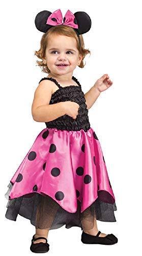 Fancy Me Baby Kleinkind Mädchen Minnie Maus Tier Halloween Kostüm Kleid Outfit 12-24 Monate (Minnie Kleinkind Halloween Kostüm Maus)