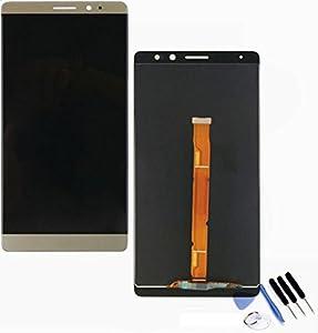 Display LCD Einheit Huawei Mate 8 kompatibel gold + Werkzeug