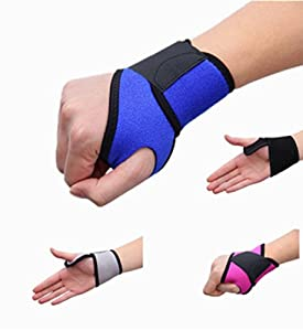 The TGS wrist supports, brace, straps comfortable adjustable. weight lifting, tennis, badminton and so much more