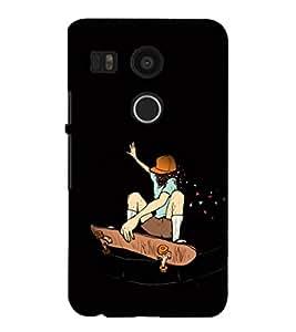 EPICCASE Enthusiast Skater Mobile Back Case Cover For LG Google Nexus 5X (Designer Case)