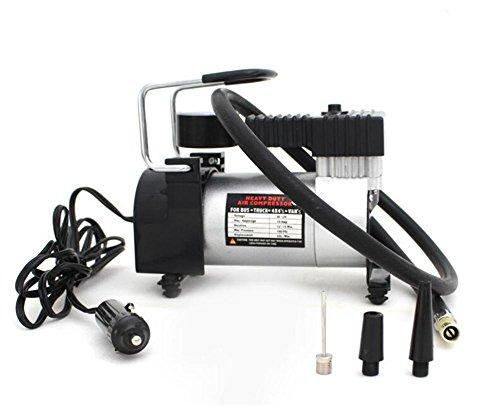 GO&CAR Hochleistungs-Auto-Luft-Pumpe Portable Luftkompressor Heavy Duty 12V elektrische Reifen Inflator Autopflege Werkzeug (Portable Luft-pumpe Für Auto)