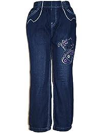 Thermojeans Thermo warme Hose Jeans Mädchen warm Fleece gefüttert Winterhose