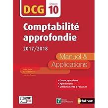 Comptabilité approfondie - 2017/2018