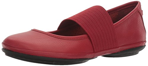 CAMPER Damen Right Nina Mary Jane Halbschuhe, Rot (Medium Red 610), 36 EU - Für Camper Frauen Schuhe
