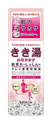 きき湯 クレイ重曹炭酸湯 ボトル 360G 入浴剤 (医薬部外品)