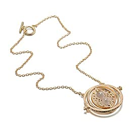 ALMA Collana Necklace Ciondolo Harry Potter GIRATEMPO Hermione Granger TIMETURNER Colore Oro