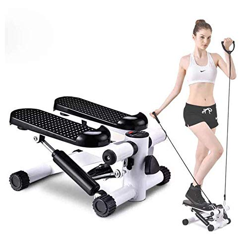 MIANCY-Health Schritt Swing-Stepper Maschine mit Training Tapes/Stepper Trainingsgerät Heimtrainingsgerät -