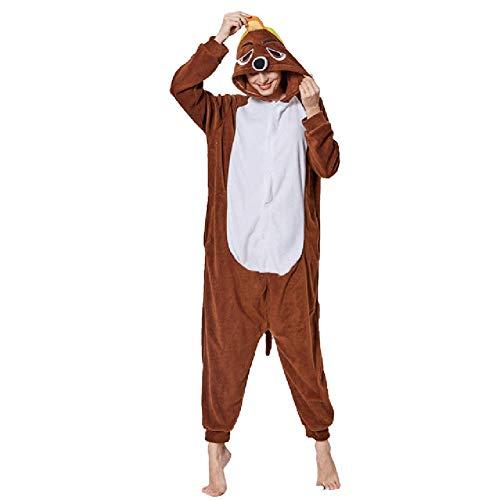 Pyjamas Bekleidung Animal Erwachsene Unisex Schlafanzüge Karneval Onesies Cosplay Jumpsuits Anime Carnival Spielanzug Kostüme Weihnachten Halloween Nachtwäsche Herren Maulwurf