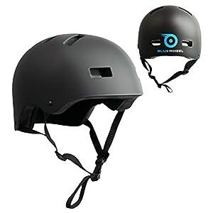 Bluewheel Helm H30 für Hoverboard, Inline-Skate, BMX Fahrrad; 3 schichtiger Aufbau für mehr Sicherheit, Belüftungssystem…