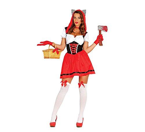 Kostüm Rosso Cappuccetto - Fiestas Guirca Costume cappuccetto Rosso Lupo Donna sexy per travestimento Horror