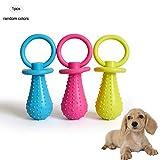 Xiton Schnuller Form Gummi Molar Spielzeug Vocal Gummiball für Haustier Hund Katze große Größe 1PC (Verschiedene Farben)