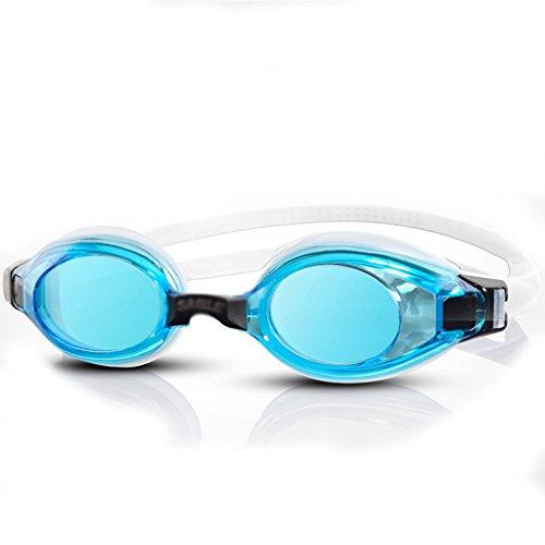 ZHongWei Schwimmen Gläser Anti-UV-Anti-Fog wasserdicht HD Männer und Frauen erhältlich Erwachsene professionelle Ausbildung Schutzbrillen Schwimmen Ausrüstung Schwimmbrille (Color : F) -