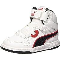 Puma Rebound Street L Inf Sneaker V, Blanco y Negro, 4,5