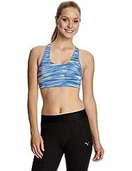 PUMA Sport-BH WT Essentials Graphic Bra - Corsé para mujer