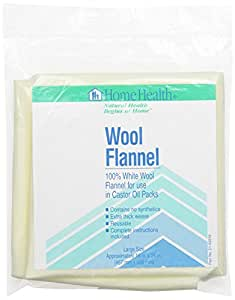 Wool Flannel, Large, Approximately 18 X 24 inches