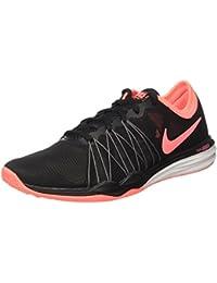 separation shoes d9aa7 88f41 Nike WMNS Dual Fusion TR Hit, Sneakers Basses Femme, Noir