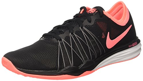 Nike Damen Dual Fusion TR Hit Fitnessschuhe, Schwarz (Black/Lava Glow/Dark Grey/Pale Grey 005), 40 EU