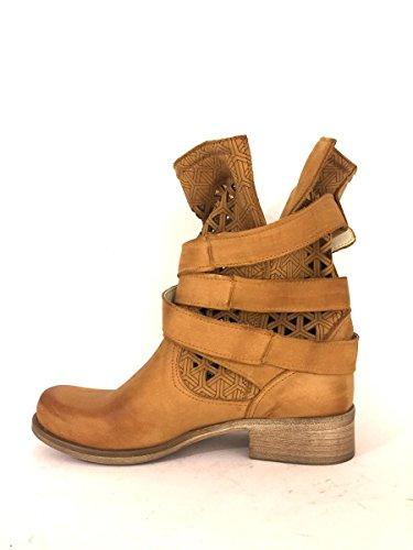 ZETA SHOES, Bottes pour Femme cuir