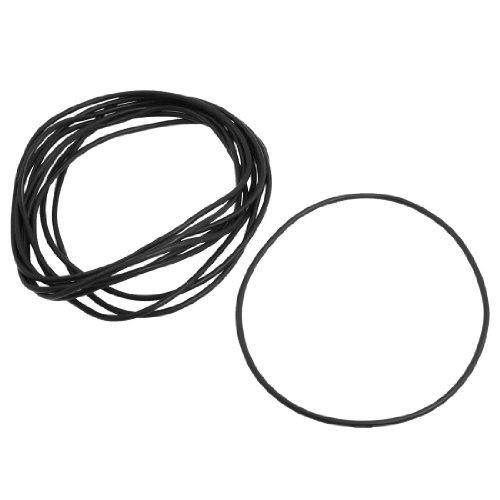 sourcingmap-10-pezzi-tipo-di-suoneria-guarnizione-in-gomma-ermetico-per-pentola-a-pressione-nero-rad