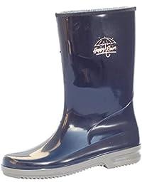 W.K. Tex. Jenny - Botas de lluvia para mujer, color azul, talla 42