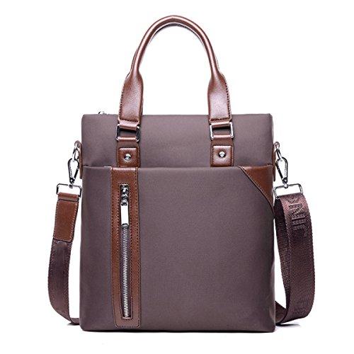 Geschäft Beutel-Handtaschen-Computer-Beutel A4 Aktenkoffer-beiläufiger Beutel-männlicher Beutel-Schulter-Beutel-Kurier-Beutel-männlicher Beutel Brown
