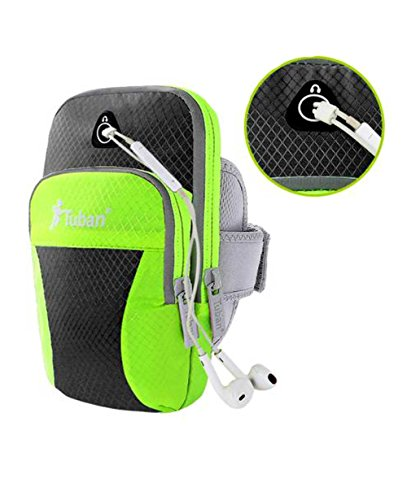 Bluestercool Outdoor-Sportarten wasserdichte ARM Tasche zum Running/Fitness/Radfahren - Multicolor F1