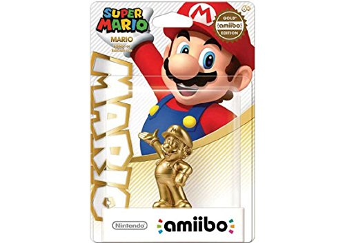 Amiibo - Super Mario Collection Figur: Golden Mario (Figuren Amiibo Super Mario)