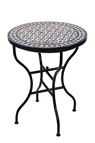 Original Marokkanischer Mosaiktisch Bistrotisch O 60cm Gross Rund