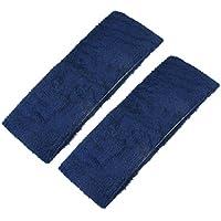 "2 Stück Dark Blue Frottier 2.8 ""Wide Elastic Sport Stirnband preisvergleich bei fajdalomcsillapitas.eu"