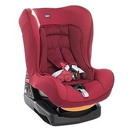 Chicco Cosmos Seggiolino Auto 0-18 kg, Gruppo 0/1 per Bambini da 0 ai 4 Anni, Reclinabile, Rosso