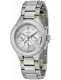 DKNY Damen-Armbanduhr Digital Quarz Edelstahl NY2394