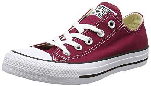 Converse Chuck Taylor All Star Core Ox, Baskets Mode Mixte Adulte - Rouge (Bordeaux) - 42.5 EU