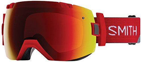 Smith I/Ox Goggles, fire Split/Chromapop Sun red Mirror, One Size