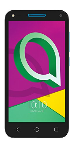 "Alcatel U5 3G - Smartphone de 5"" (Quad-Core, 8MPx, 1 GB de RAM, Memoria Interna 8 GB, Dual SIM, Android), Multicolor (Black/Blue)"