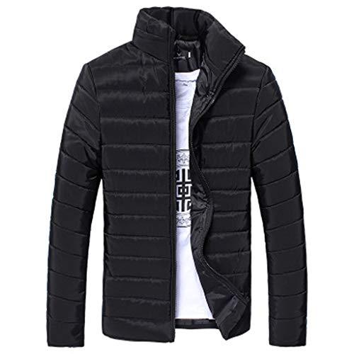 The Black Friday Sale,Mäntel Herren,SANFASHION Männer Cotton Outwear Stand Zipper Warme Winter Dicken Winterjacke Jacke