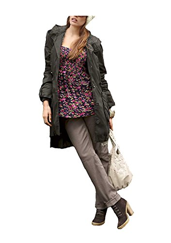 Aniston -  Giacca  - Opaco - Donna Oliva