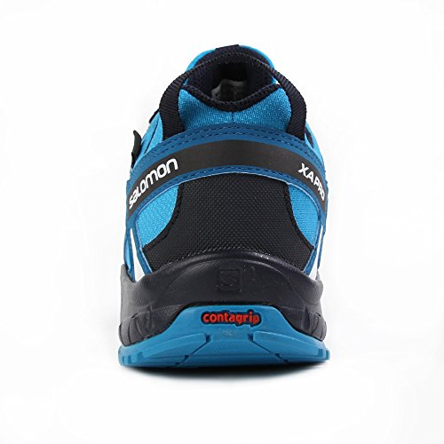 Salomon Enfants XA Pro 3D CSWP Chaussures de Course à Pied, Trail Running et Activités en Extérieur, Synthétique/Textile Bleu (Hawaiian Surf/mykonos Blue/navy Bla)