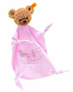 Steiff Sleep Well Bear Comforter (Pink, 30cm)