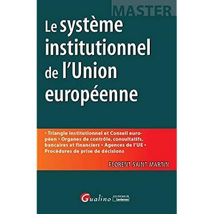Système institutionnel de l'Union européenne