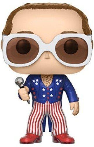 Funko POP Vinyl POP Rocks Elton John RED WHITE BLUE Vinyl Figure