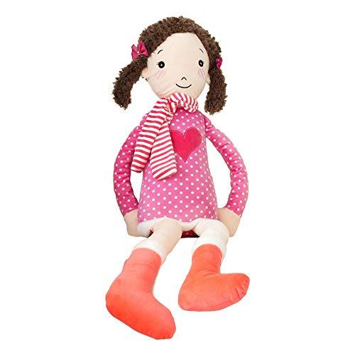 uscheltier Stofftier Plüschtiere Plüsch Kinderspielzeug Hochzeitsdekoration Rosa 80cm ()